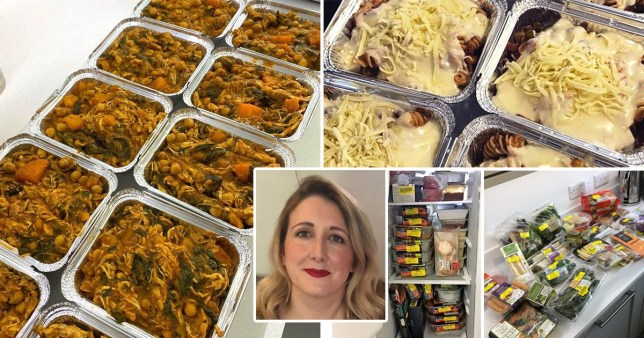 liane wells, an expert budget batch cooker who cooked two weeks worth of meals for just £5
