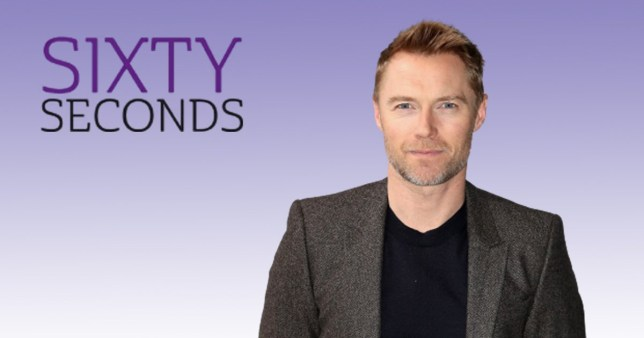 Ronan Keating Sixty Seconds