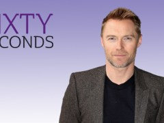 Sixty Seconds: Boyzone's Ronan Keating on missing Stephen Gateley and having five children