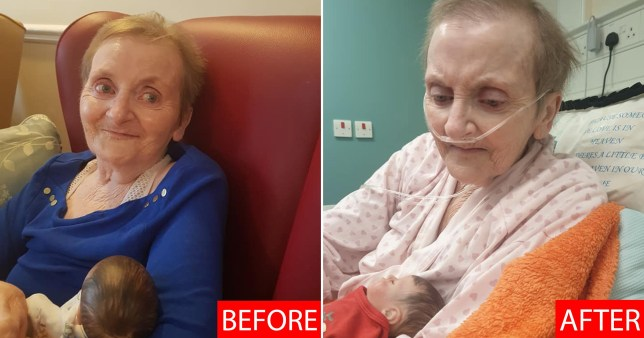 Pictures show the difference in the condition of a Middlesbrough care home resident before and after the coronavirus pandemic