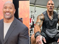 Dwayne Johnson proves he's an absolute machine in sweaty gym snap