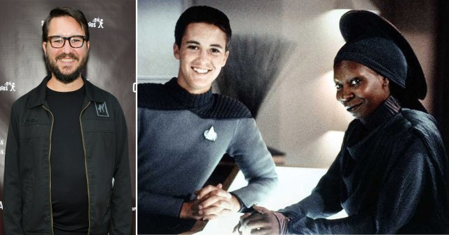 Wil Wheaton Star Trek Whoopi Goldberg