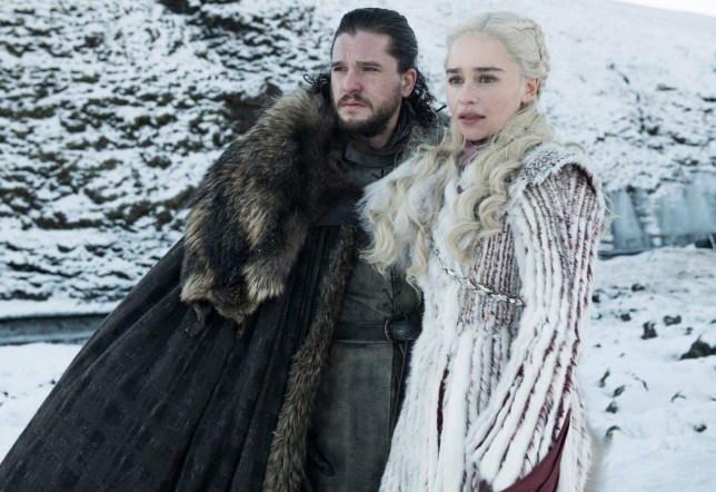 Game Of Thrones daenerys and jon snow