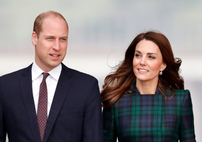 DUNDEE, UNITED KINGDOM - JANUARY 29: (EMBARGOED FOR PUBLICATION IN UK NEWSPAPERS UNTIL 24 HOURS AFTER CREATE DATE AND TIME) Prince William, Duke of Cambridge and Catherine, Duchess of Cambridge arrive to officially open V&A Dundee, Scotland's first design museum on January 29, 2019 in Dundee, Scotland. (Photo by Max Mumby/Indigo/Getty Images)