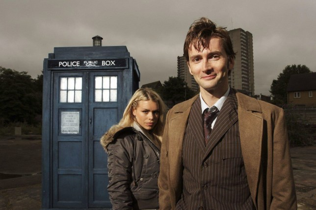 Billie Piper David Tennant Doctor Who