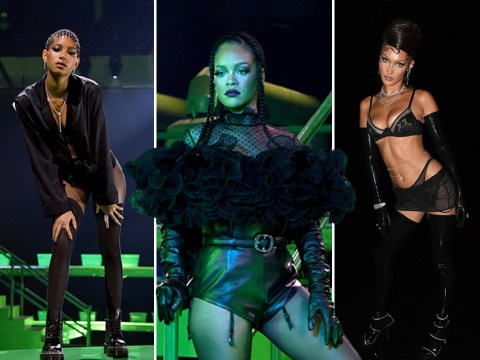 From Lizzo in fishnets to Demi Moore's lingerie: All the hottest moments from Rihanna's second star-studded Savage x Fenty show