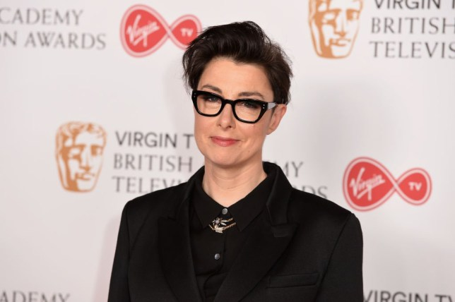 Sue Perkins on the red carpet.