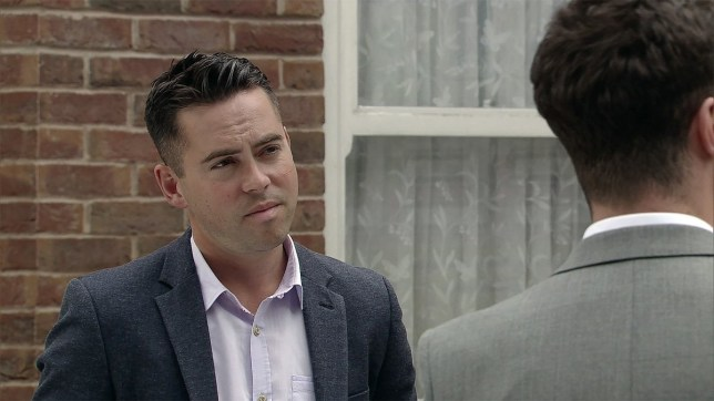 bruno langley in coronation street