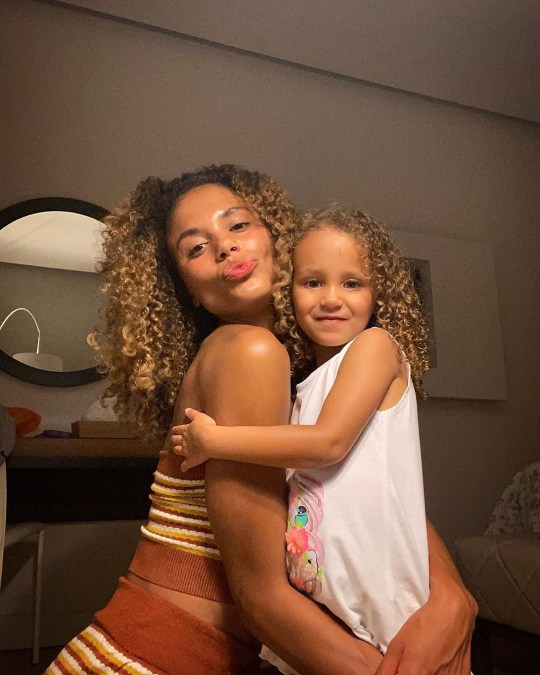 EastEnders star Jessica Plummer and daughter Noa