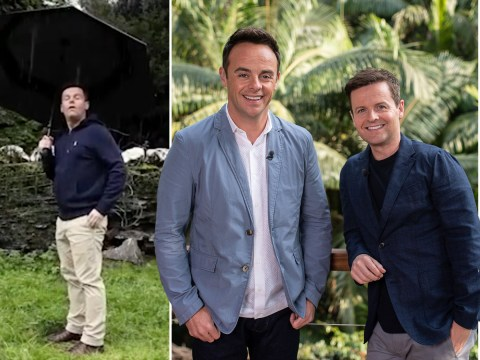 Ant and Dec share hilarious behind-the-scenes video from I'm A Celeb set as they swap sunshine for rain