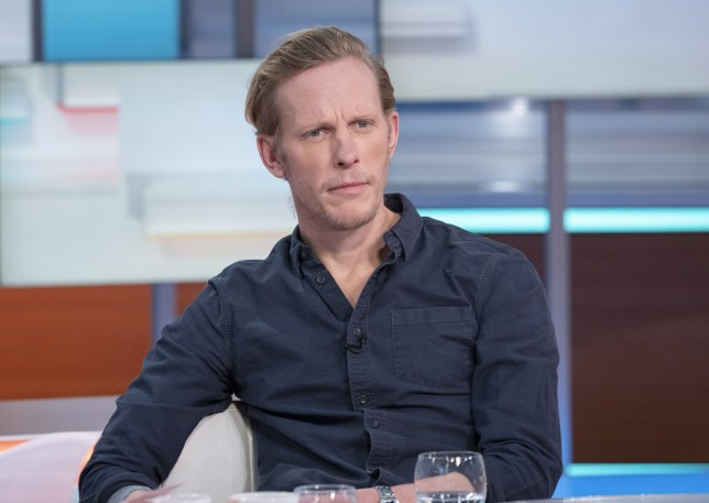 Editorial use only Mandatory Credit: Photo by Ken McKay/ITV/REX (10533327k) Laurence Fox 'Good Morning Britain' TV show, London, UK - 22 Jan 2020