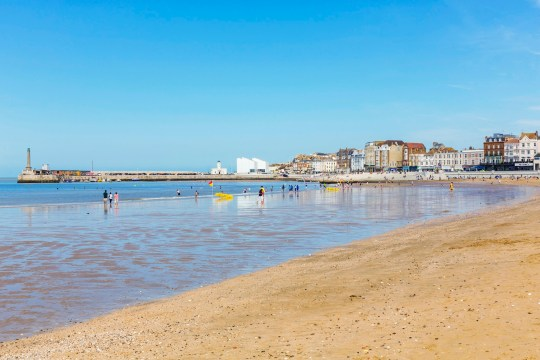 Seaside view of Margate