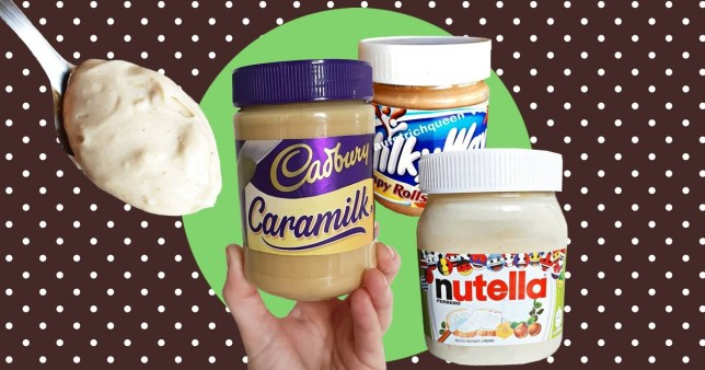 How to make four-ingredient Caramilk spread, white Nutella, or Milky Way Crispy Rolls spread