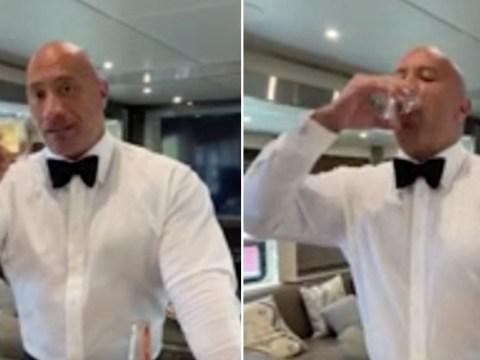 Dwayne 'The Rock' Johnson celebrates major Instagram milestone with tequila and life advice