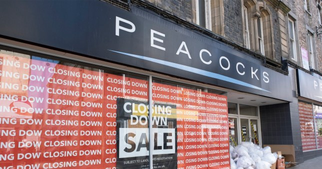 Around 24,000 jobs at risk at Peacocks and Jaeger