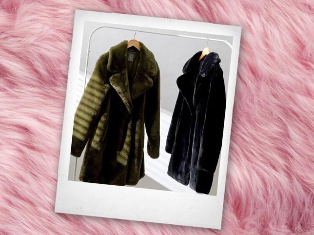 new primark faux fur coats