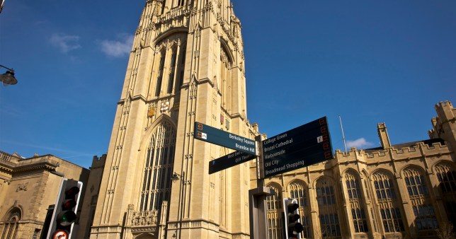 Bristol University lockdown