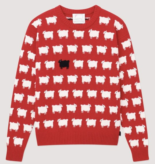 Lady Di's sheep jumper