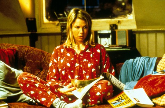 Renee Zellweger as Bridget Jones in Bridget Jones's Diary