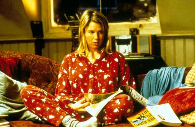 Renee Zellweger as Bridget Jones in Bridget Jones's Diary