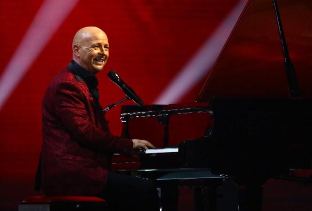 Jon Courtenay on the Britain's Got Talent final
