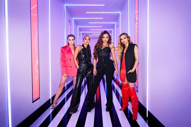 Perrie Edwards, Leigh-Anne Pinnock, Jesy Nelson, Jade Thirlwall on Little Mix The Search