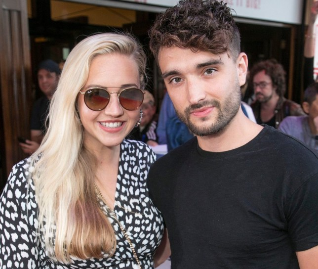 Tom Parker and wife Kelsey