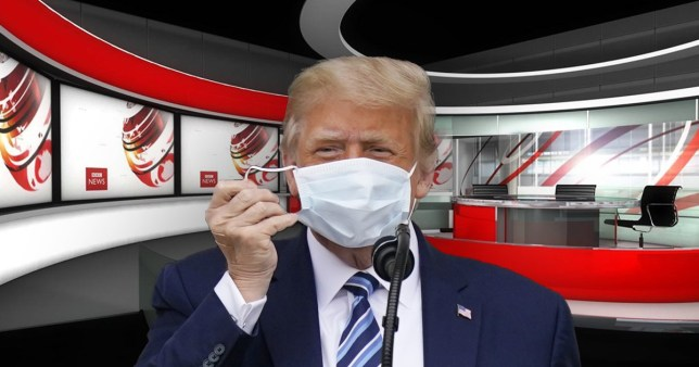 BBC hit with complaints over coverage on Trump's rona AP|BBC