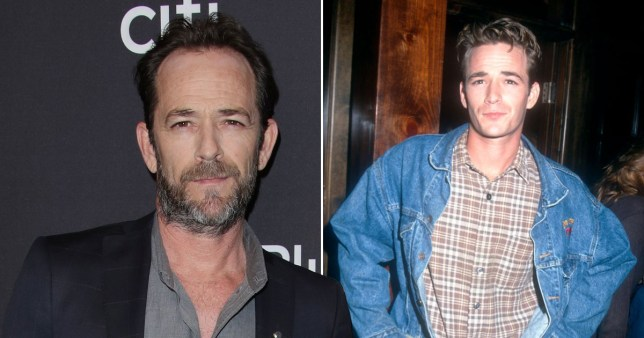 90210 cast remember late Luke Perry on his birthday Getty