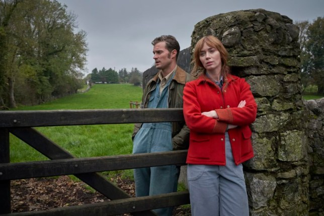 Emily Blunt and Jamie Dornan in stills released for the movie 'Wild Mountain Thyme' Bleecker Street will release WILD MOUNTAIN THYME in theaters and on demand on December 11th