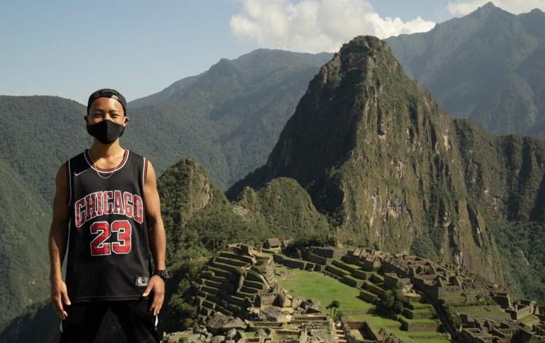 Jesse Katayama in Maccu Picchu