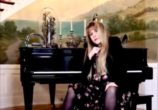 Stevie Nicks joins TikTok, does the Dreams challenge