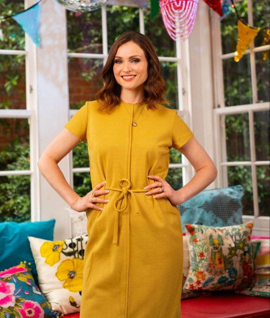 Sophie Ellis Bextor cooks in her kitchen at home to launch this years Hotpoint 'Fresh Thinking for Forgotten Food' campaign