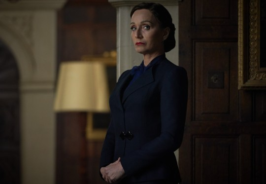 Kristin Scott Thomas in Rebecca