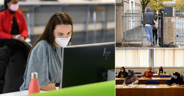 Uni students to go online only before two-week lockdown to go home for Christmas Pics: Getty