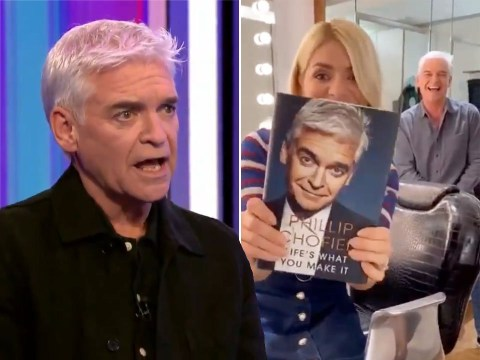 Holly Willoughby in tears over Phillip Schofield's emotional interview on The One Show
