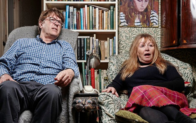 Gogglebox S15 - Giles and Mary