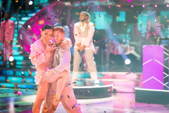 WARNING: Embargoed for publication until 00:00:01 on 17/10/2020 - Programme Name: Strictly Come Dancing - TX: 17/10/2020 - Episode: Launch show (No. n/a) - Picture Shows: Nancy Xu, Neil Jones, MNEK - (C) BBC - Photographer: Guy Levy