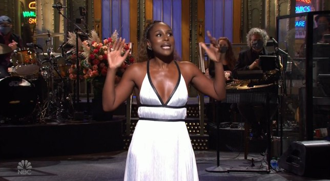 Issa Rae on Saturday Night Live