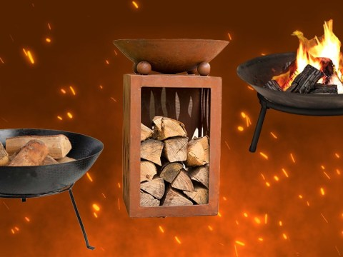 Six affordable fire pits to heat up the garden this winter