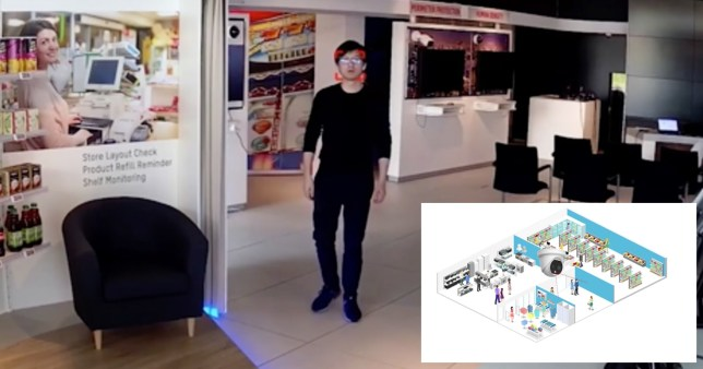Shops install CCTV that detects if you're not wearing a mask