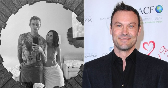 Megan Fox and Machine Gun Kelly; Brian Austin Green