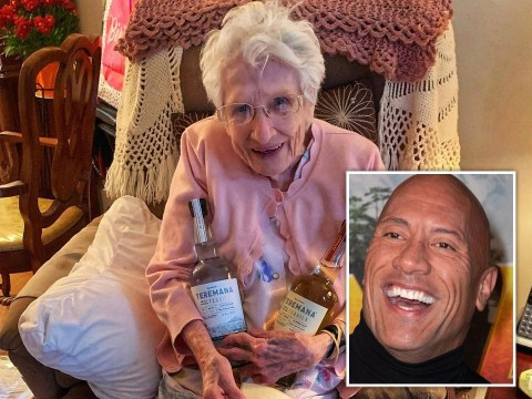 Dwayne Johnson sending 101-year-old fan his tequila and advising her not to do shots is everything