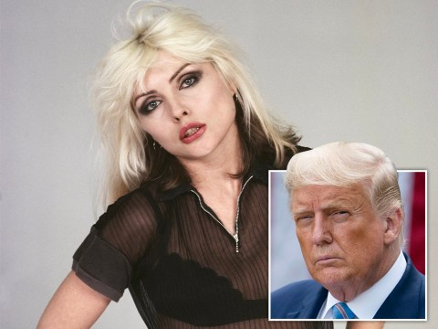 Blondie's Debbie Harry ignored by President Trump as he 'prefers bigger women'