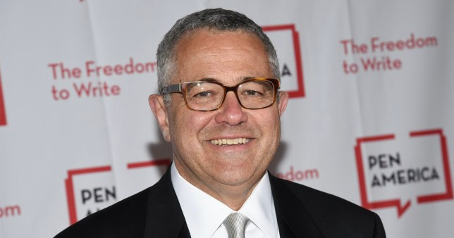 New Yorker journalist and CNN on-air legal analyst Jeffrey Toobin, who has been suspended from the New Yorker for masturbating during an 'election simulation' Zoom call