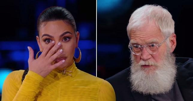 Kim K revelations on Letterman
