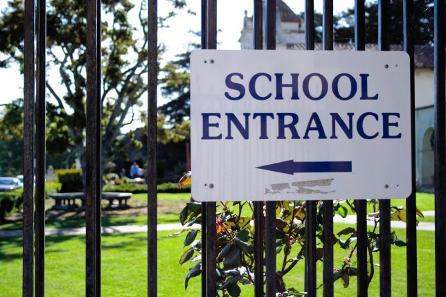 Parents have been told that the correct checks have been carried out after pupils at a secondary school claimed a fellow student resembled an adult man
