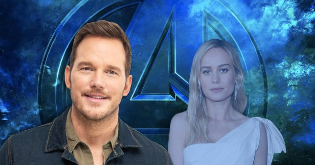 Fans livid Avengers support Chris Pratt - but not Brie Larson and Anthony Mackie Getty Images|Rex Features