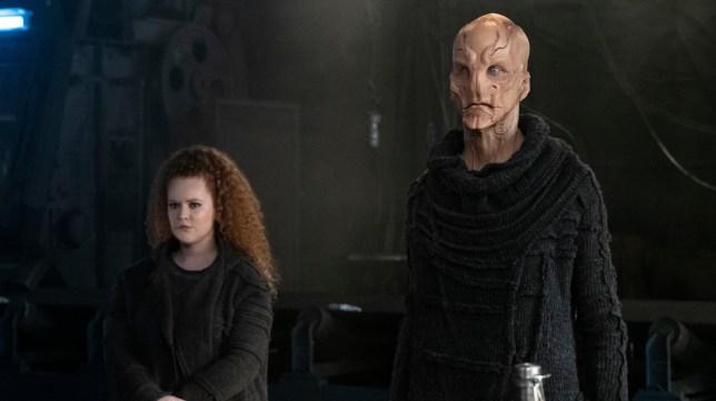 Star Trek Discovery: Saru and Tilly