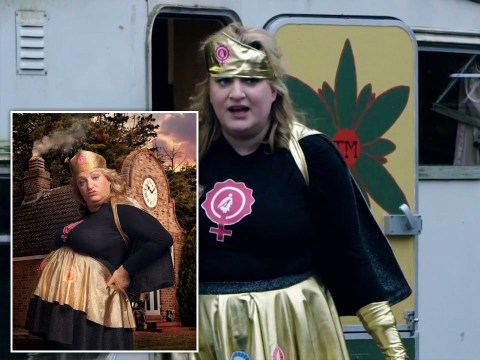 Daisy May Cooper finally reveals name and meaning of Taskmaster superhero character and we're obsessed